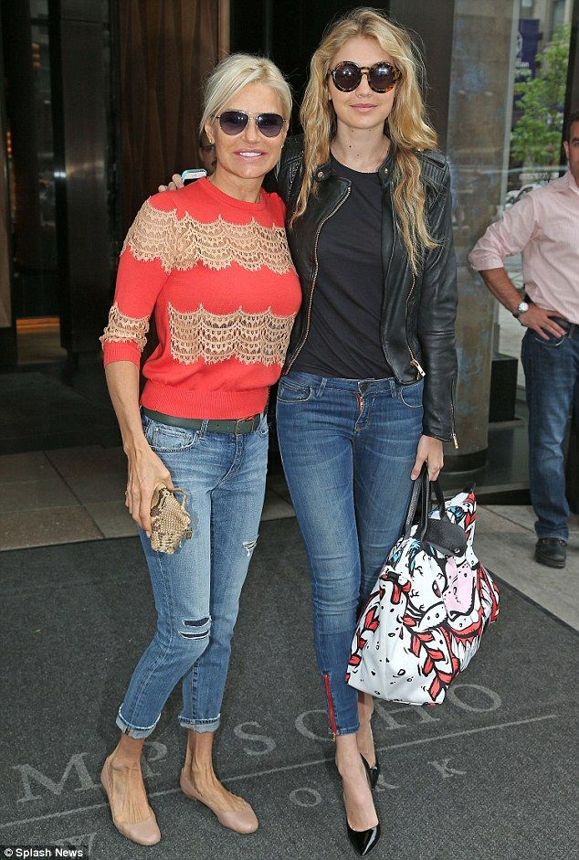 Gigi Hadid posed with her mother, Real Housewives Of Beverly Hills star Yolanda Foster, while out in New York City #RHOBH #YolandaFoster Visit us on FB! www.facebook.com/therealhousewivesfanclub #gigihadid