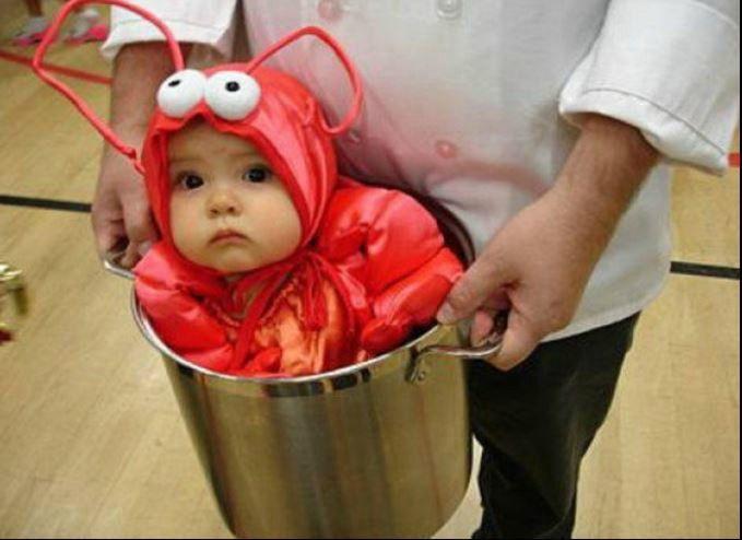 Una piccola aragosta..in pentola! #halloween