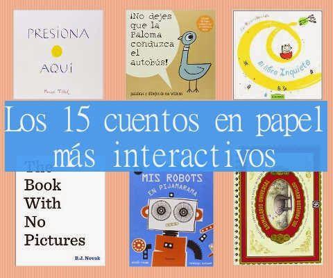 Shikoba Kids: Los 15 cuentos de papel más interactivos