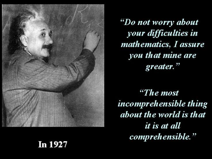 Albert Einstein Math Quotes | albert einstein quotes ...