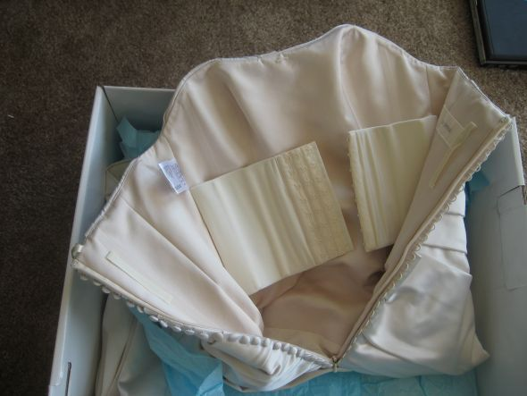 Corset back - does it ALWAYS give you an hourglass shape? « Weddingbee Boards