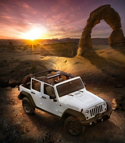 2013 Jeep Wrangler ....I miss the jeep so this is what I'm thinking...White four door instead of the old tan 2 door