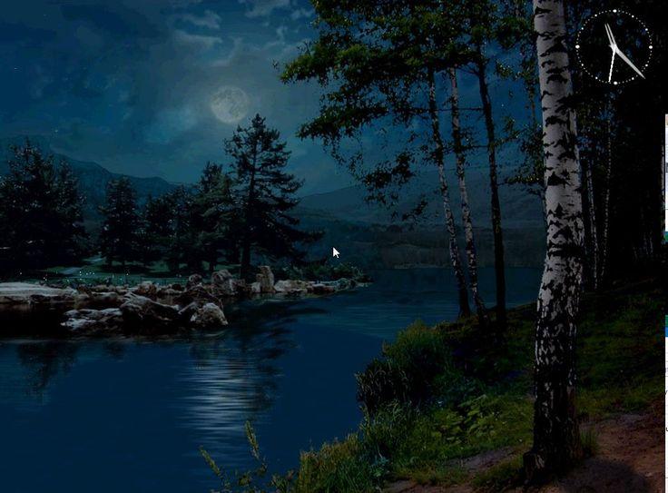 Free 3d mountain lakes screensaver rudhotsprod - Mountain screensavers free ...