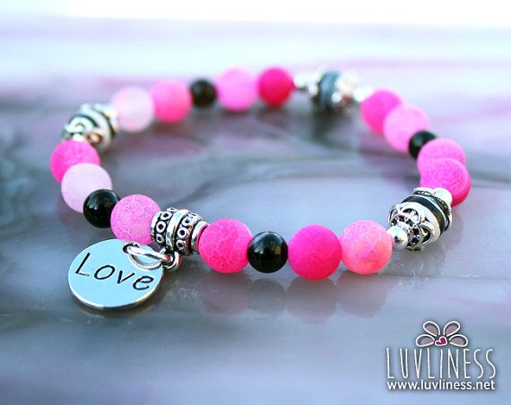 Compassionate Energy Black Agate Onyx & Zebra Rock by luvliness