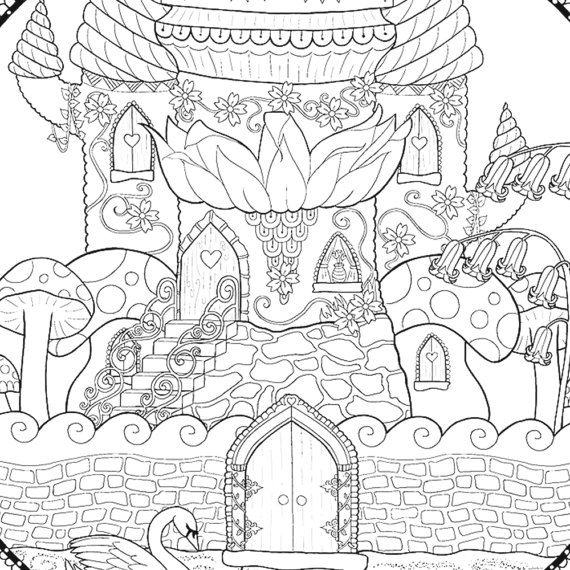 Best 25 Fairy coloring pages ideas