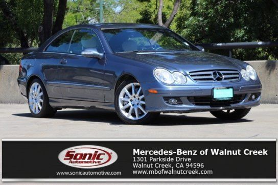 Coupe, 2007 Mercedes-Benz CLK 350 Coupe with 2 Door in Walnut Creek, CA (94596)