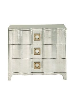 H6YBM Bernhardt Audrey Three-Drawer Nightstand