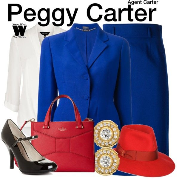 Inspired by Hayley Atwell as Agent Peggy Carter on Agent Carter.