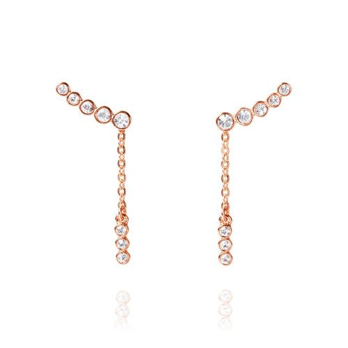 La Vie en Rose Convertible Ear Climbers