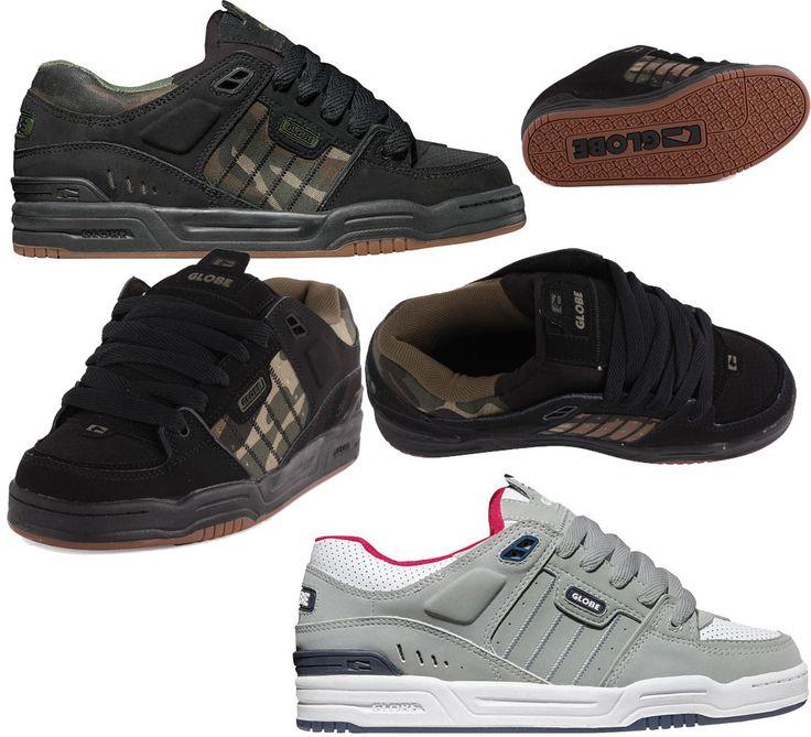Scarpe Skate Globe Shoes Fusion Black Nero HIP POP Uomo Donna RAP SNEAKERS #sneakers#skate#globe