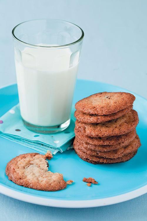 Gluten and egg free chocolate cookies. www.rooirose.co.za #GlutenFree
