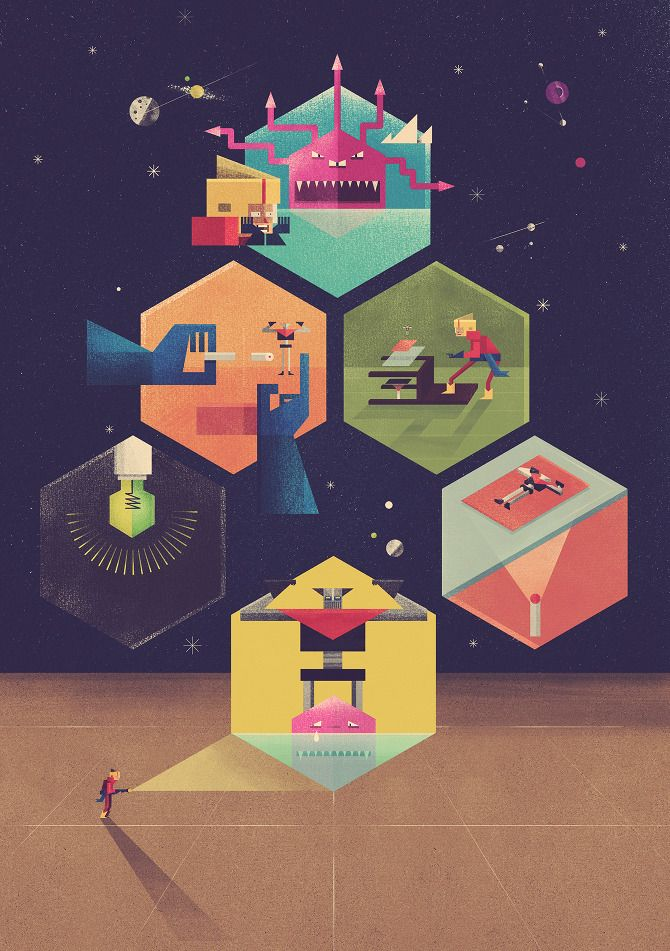 WIRED UK Hologram - Twistedfork = Dan Matutina