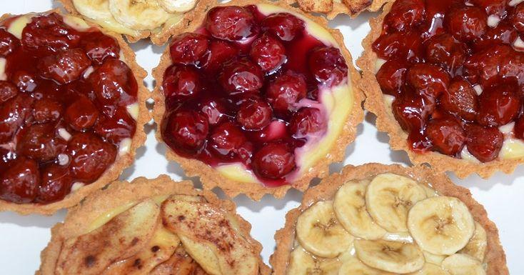 Koken met gerrit (van WECKENonline): Vruchtentaartjes met zandtaartdeeg maken