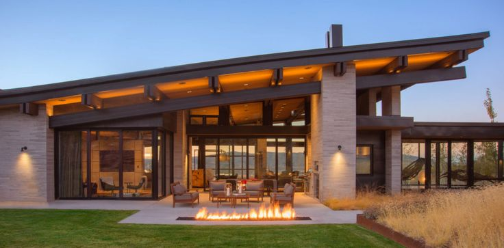 Contemporary mountain residence located in park city utah