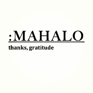 : THANK YOU