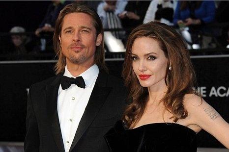 Bard Pitt and Angelina Jolie