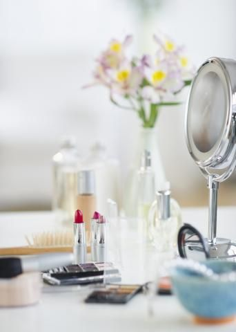 Clever Organizing Solutions for Even the Tiniest Bathroom | Sure, a glass-front cabinet would be lovely, but how do you store the essentials when there isn't floor space for extra storage? Try these smart stash-it tips and tricks for the tightest spots.