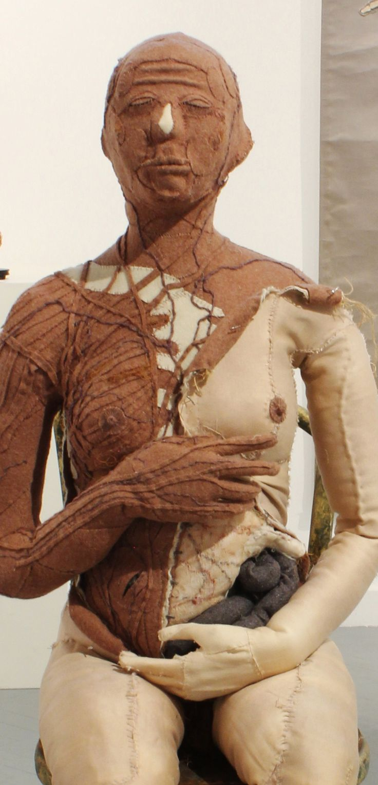 Specimen # 20.Female figure .soft tissue anatomy sculpture by Andrew Delaney .Anno Domini Home . The Vivisector . Pic by Vikki Kassioras