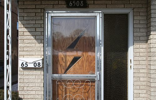 Mid-Century door by repowers, via FlickrFlickr, Mcm Doors, Entry Doors, Doorsgarag Doors, Doors Garages Doors, Midcentury Doors, House, Fantastic Doors, Mid Century Doors
