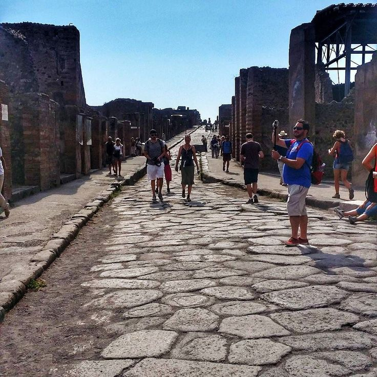 """Rome 2014 - Pompeii - """"In restless dream I walked alone narrow streets of cobblestone""""  #pompeii #volcano #mytravelgram #mytrip #travelphoto #beautifuldestinations #wanderlust #fantastic_earth #ourplanet #ig_italy #Italy #naples #mypic #holiday #samsungmobile #samsungnote3 #historicalplace #ancientstructure #history"""