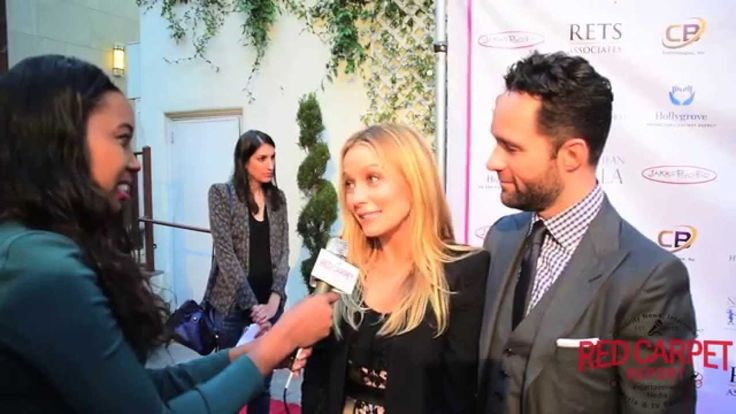 Becki Newton & Chris Diamantopoulos at the 4th Annual Norma Jean Gala Red Carpet