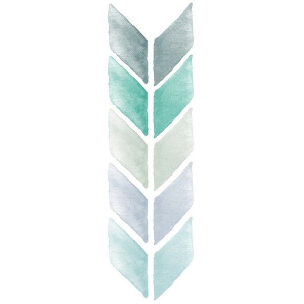 Chevron Watercolor Mint and Blue Art Print ($19) ❤ liked on Polyvore featuring home, home decor, wall art, fillers, backgrounds, design, effect, phrase, quotes and saying