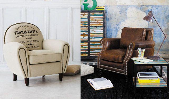 """Résultat de recherche d'images pour """"fauteuil maison du monde"""""""