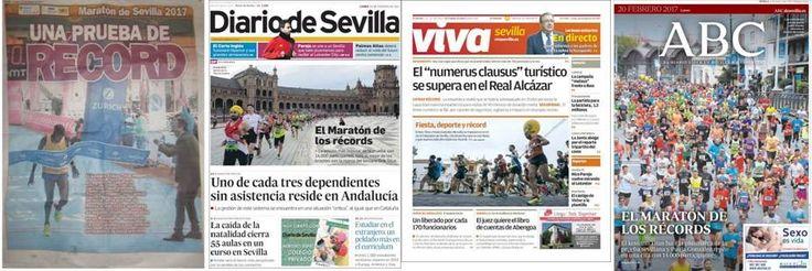 Resumen de la prensa de la Maratón de Sevilla 2017.