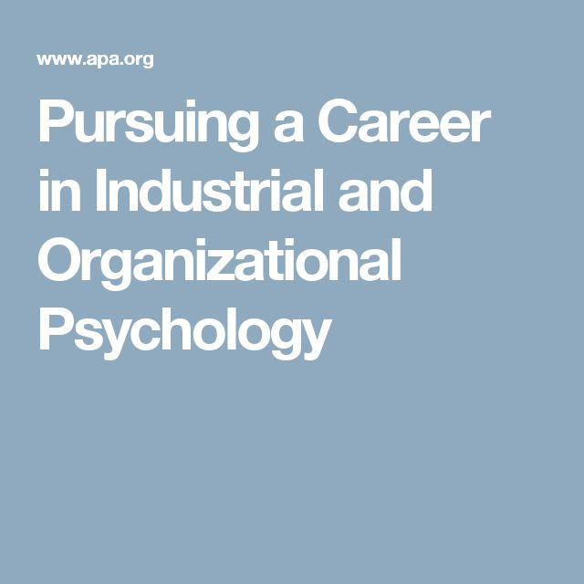 Best 25+ Industrial and organizational psychology ideas on - I O Psychologist Sample Resume