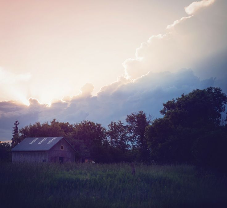 Sunset on the Farm by Amber Harloff on 500px