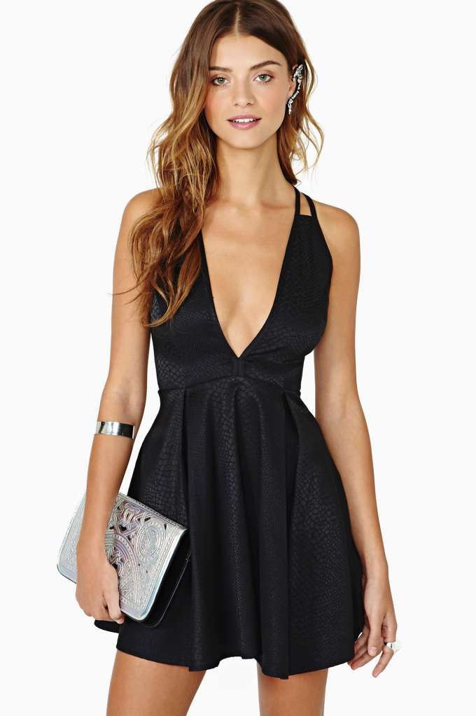 nasty gal. dark charmer dress. #fashion