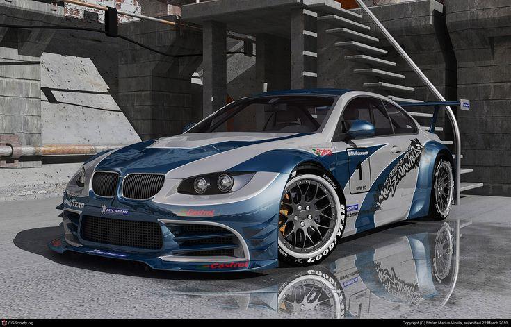Custom BMW M3 GTR  httpfeaturescgsocietyorgnewgallerycrits