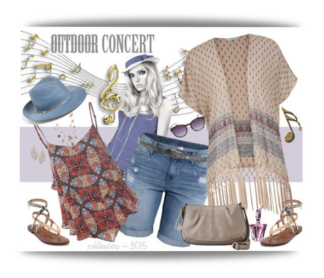"""Outdoor Concert Boho Style"" by pwhiteaurora ❤ liked on Polyvore"