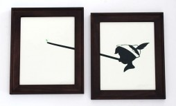Olly Moss Paper Cuts.  Amazing! : SO cute! Pinocchio