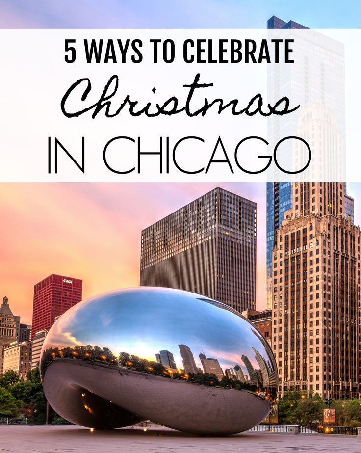 Here's a list of fun things to do in Chicago at Christmas from ice skating and Christmas markets to holiday trains and festive hotels.