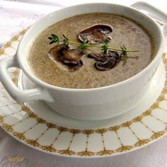 Chef John's Creamy Mushroom Soup ranks right up there with the best mushroom soup I've had anywhere.