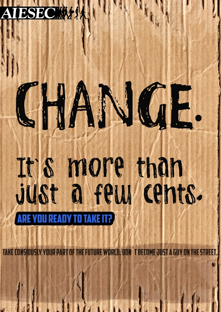 Change is more than just a few cents