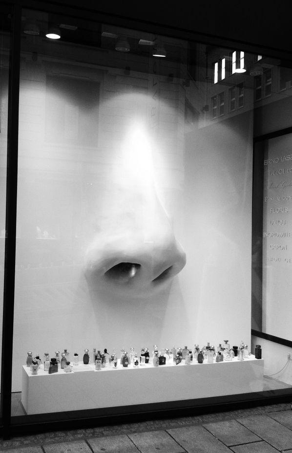 Window display perfume