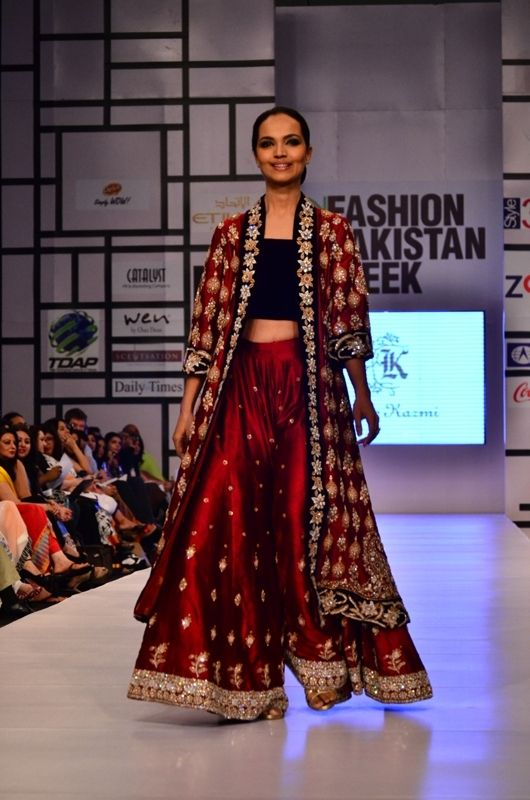 Pakistan Fashion Week kicked off on April 7th, 2012 in Karachi. Prestigious designers such as Bunto Kazmi, Maheen Khan, Umar Sayeed, and Nomi Ansari have taken part in fashion week. Here are some o…