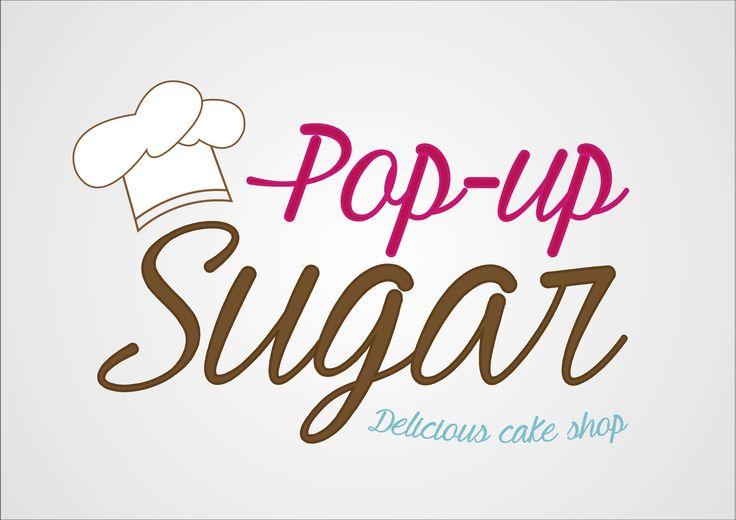 Diseño Logotipo Pop-up Sugar. Realizado por NeoAttack