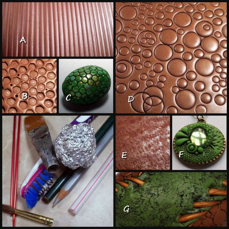 Top Five Texture Tools | Everyday Household items demonstration by Chris Kapono   ~ Polymer Clay Tutorials