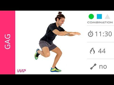 Glutei Sodi e Gambe Snelle! Esercizi Per Gambe, Glutei e Addominali Senza Salti - YouTube