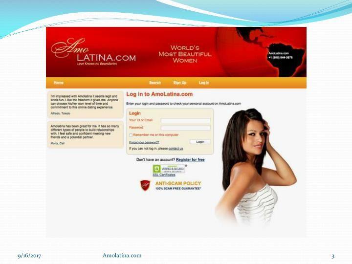 Amor latino dating site