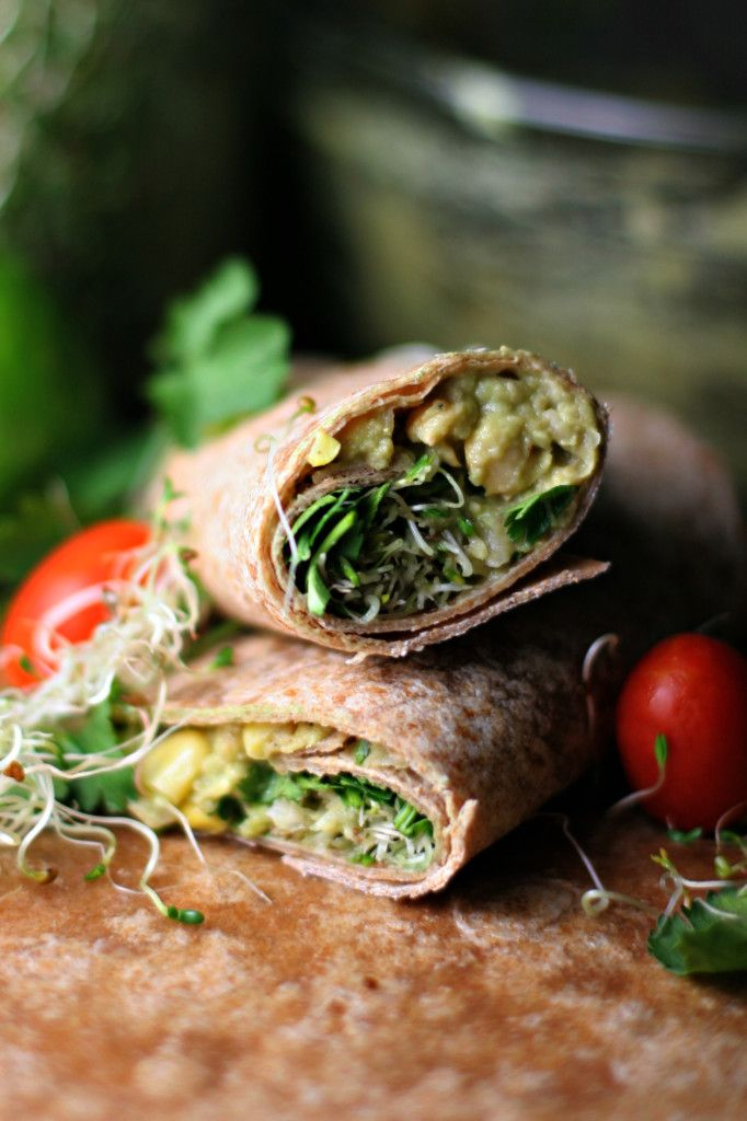 Southwestern Chickpea Avocado Smash Up ~vegan~ A balanced, one-handed meal for moms on the move!