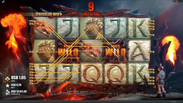 Dragon's Myth Online Slot is available for #play http://www.royalvegascasino.com/casino-games/