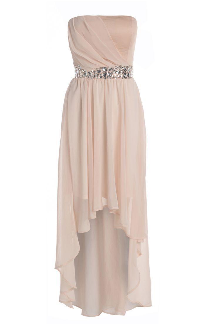 Jewel Embellished Mullet Dress / ModMint