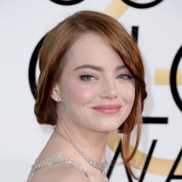 Image result for emma stone in faux bob