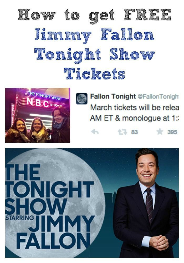 Tips on How to Get Free Jimmy Fallon Tonight Show Tickets and details on step by step instructions on events the day of show - how to get seats and what to expect on the day of your show.
