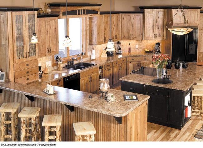 Best 25+ Hickory Cabinets Ideas On Pinterest | Hickory Kitchen Cabinets,  Rustic Hickory Cabinets And Hickory Kitchen