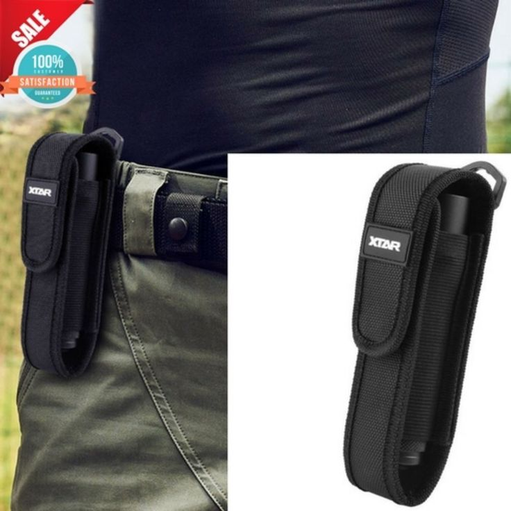 LED Flashlight Belt Holster Holder Pouch Carry Case for UltraFire Flash Light US #XTAR